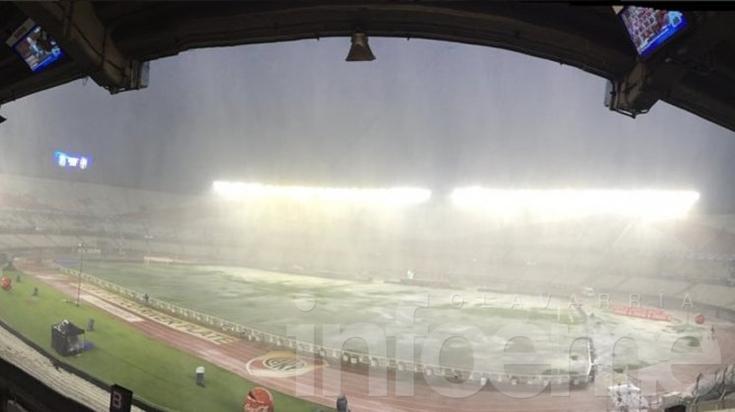 Se suspendió: por las fuertes lluvias, Argentina y Brasil juegan este viernes