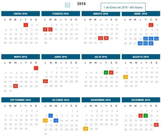 Tras la polémica, se confirmaron nueve fines de semana largos