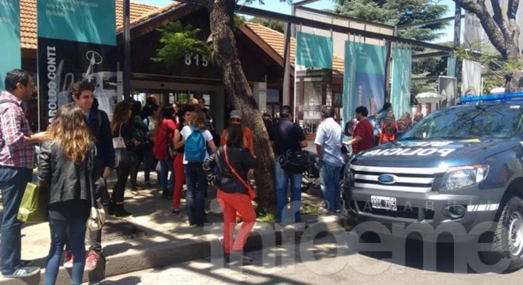 Un contingente olavarriense fue evacuado por amenaza de bomba en la ExESMA