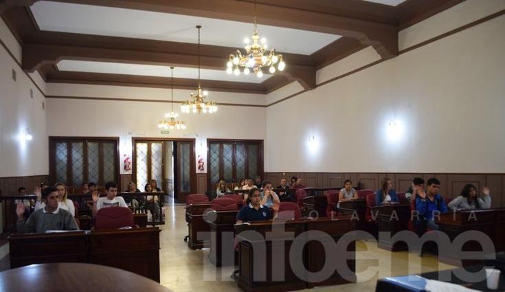 La nueva formación del Concejo Deliberante Estudiantil aprobó ocho proyectos