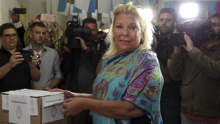 """Elisa Carrió: """"Me retiré de la campaña porque perjudicaba a Cambiemos"""""""