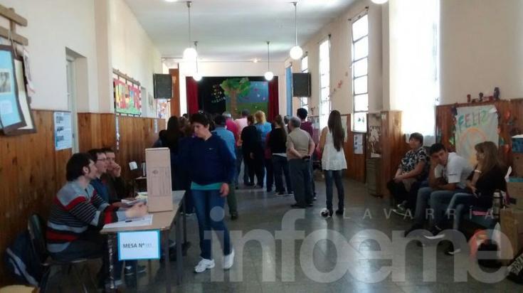 En la mitad de la jornada electoral, ya votó el 45% del padrón en Olavarría