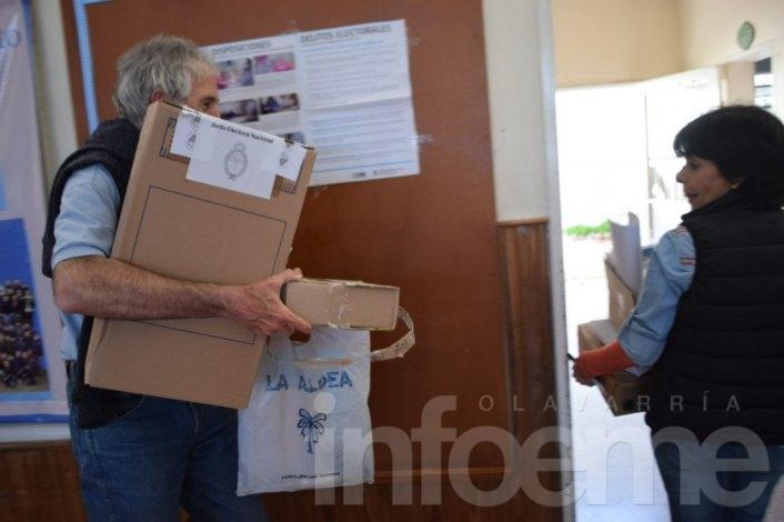 Cerró la votación: en Olavarría votó más del 80% del padrón