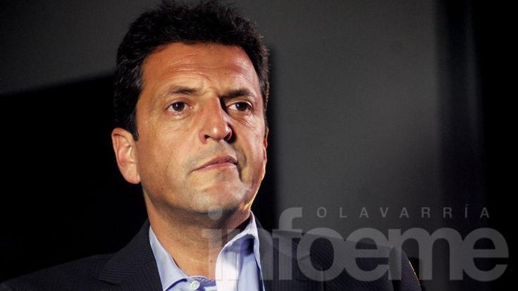 "Sergio Massa: ""Felicito al nuevo presidente, Mauricio Macri"""
