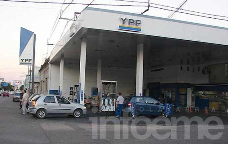 Rige el aumento a las naftas de YPF en Olavarría: en promedio es de un 5%