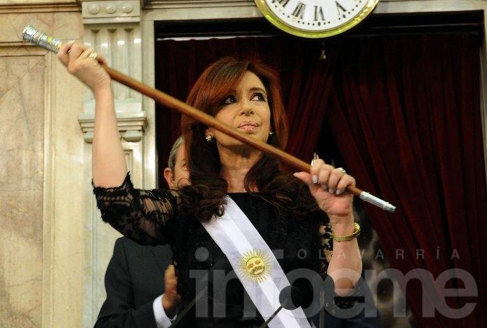 El primer acto de Cristina después de Macri presidente