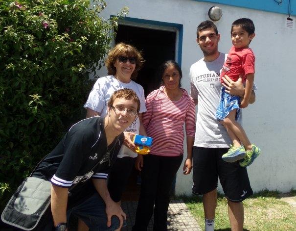 """La """"Chango Caminata Solidaria"""" fue un éxito"""