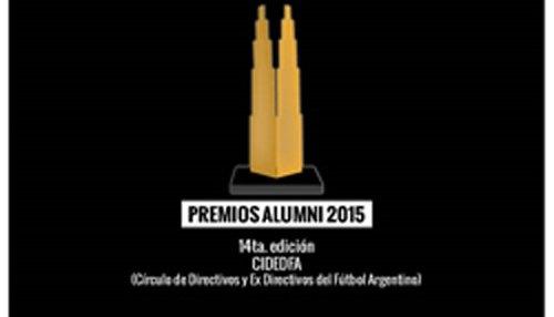 Oscar Durán obtuvo un Premio Alumni