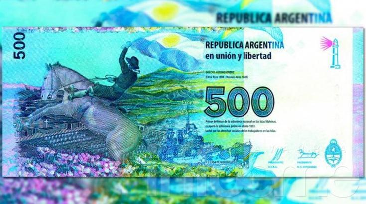 El gobierno de Macri quiere emitir un billete de $500 en enero