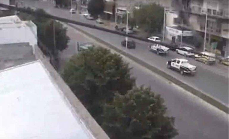 El video de la persecución policial tras el robo a un kiosco