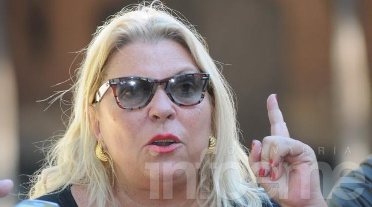 """Carrió le pidió a Macri que """"retire"""" a Angelici"""