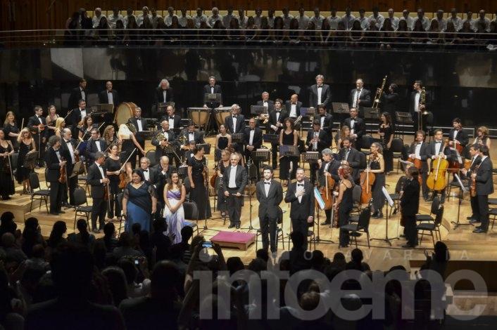 La Orquesta Sinfónica Municipal brilló en el Centro Cultural Kirchner