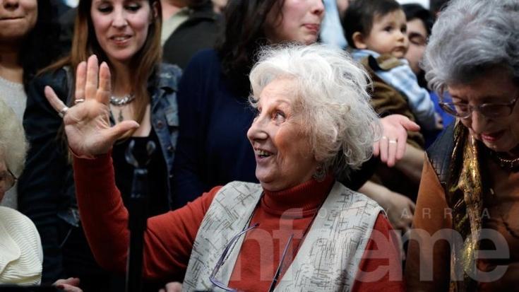 Encontraron al nieto 119: su madre vive