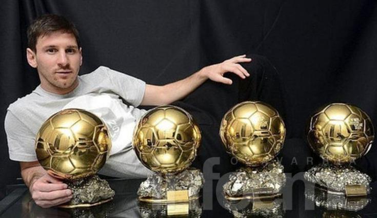 Messi competirá por su quinto Balón de Oro