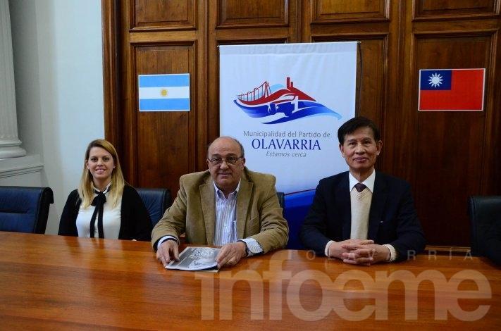 Misión comercial taiwanesa desembarcó en Olavarría
