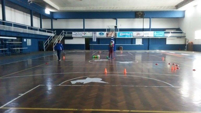 Handball formativo en Racing
