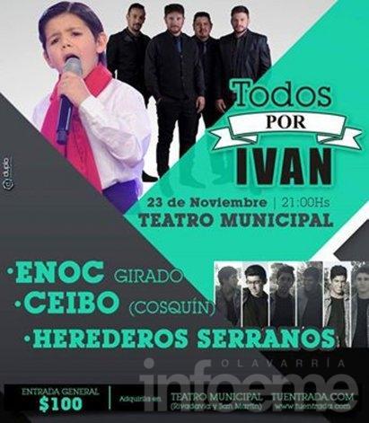 Se realizará un show a beneficio de Iván González