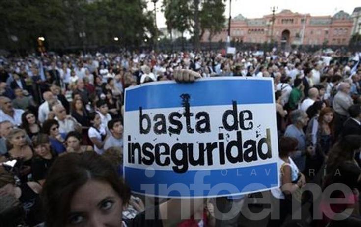 Ocho de cada diez argentinos se sienten inseguros en su casa, calle o barrio