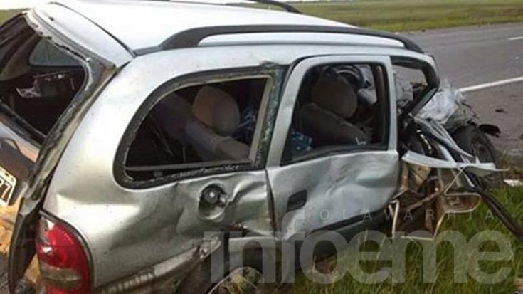 Ruta 3: falleció en un accidente el jefe de Infantería de Loma Negra