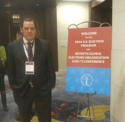 Vitale, observador internacional en las elecciones de EEUU