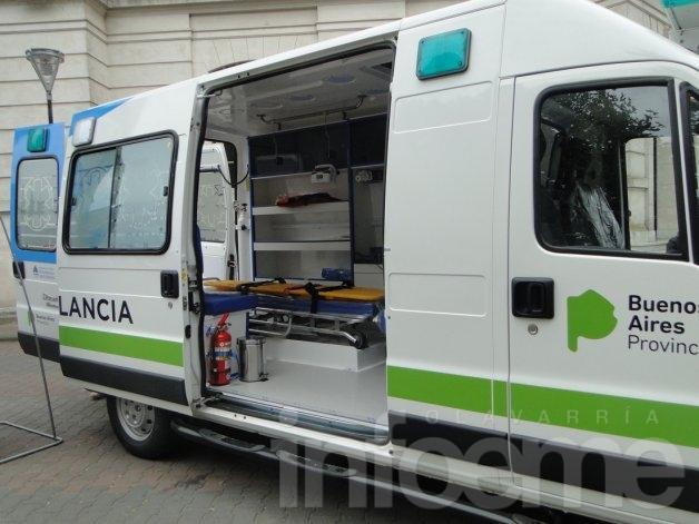 Olavarría cuenta con una nueva ambulancia de alta complejidad