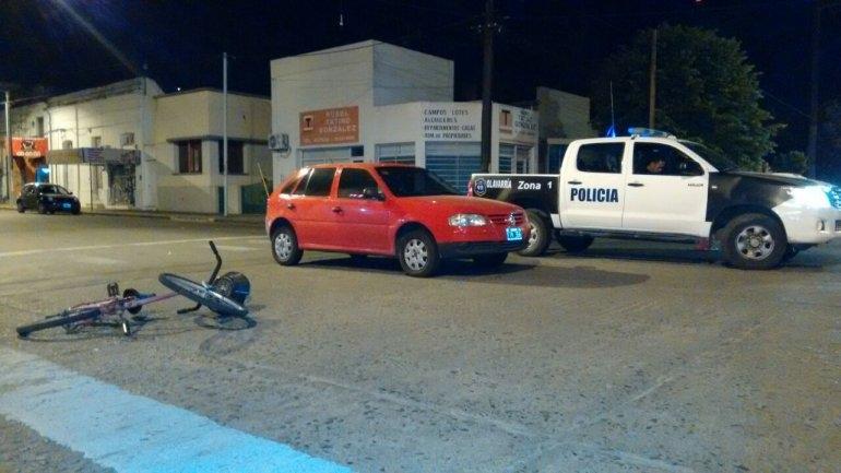 Policía Local fue atropellada y hospitalizada