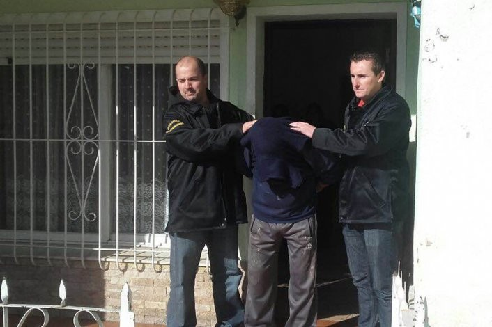 Rompió el arresto domiciliario, quiso huir y lo atraparon