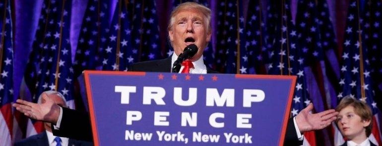 Donald Trump es el nuevo presidente de EE.UU.