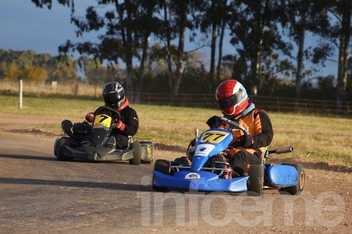 El karting define los campeonatos en Laprida