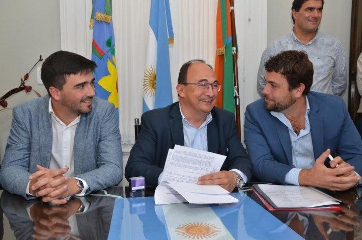 Galli participó en una reunión seccional en Saladillo