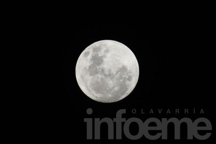 Superluna: harán un saludo en Parque Cerrito