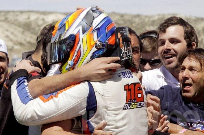 Pezzucchi arribó sexto en la final del TC Pista