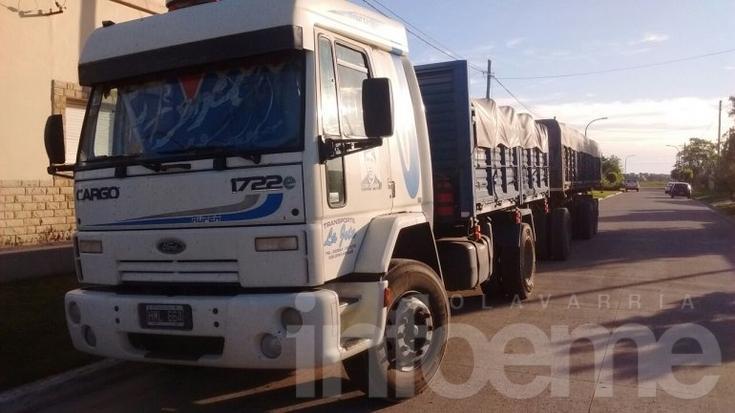 Interceptan camión con pedido de secuestro