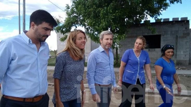 """Frigerio: """"Siempre vamos a estar apoyando a los vecinos de Olavarría"""""""