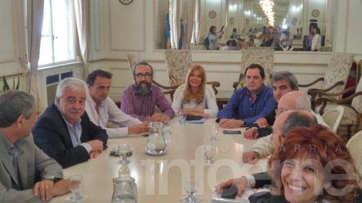 Presupuesto Provincial: Vitale se reunió con intendentes y senadores