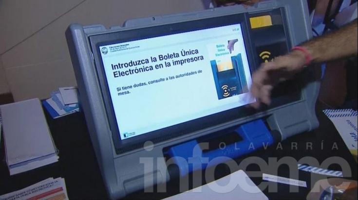 Charla abierta sobre voto electrónico y oferta electoral