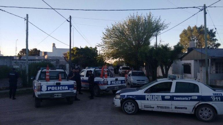 Remisero baleado: realizaron allanamientos en los barrios Coronel Dorrego y Villa Aurora