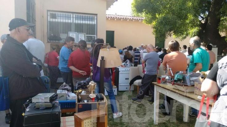 Casi 70 mil pesos recaudados en el remate a beneficio del Hogar de Ancianos
