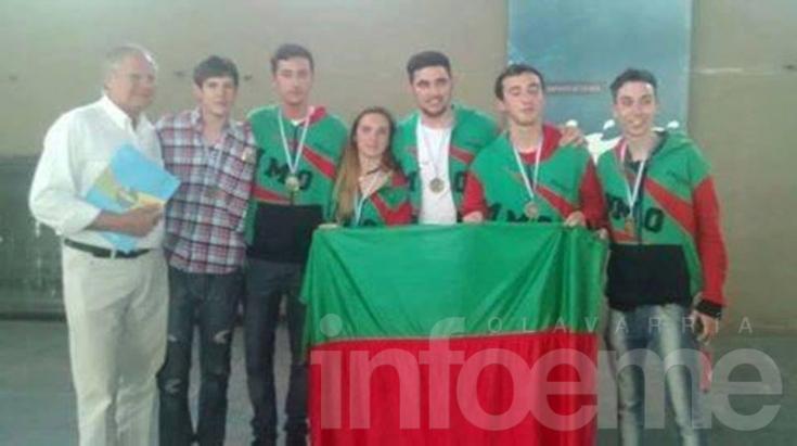 Alumnos de la Escuela Industrial participaron de una Olimpiada