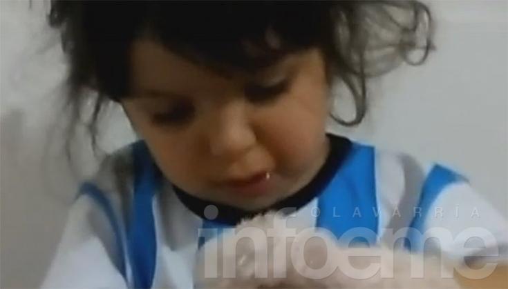 Niña olavarriense enternece con su amor por Lionel Messi