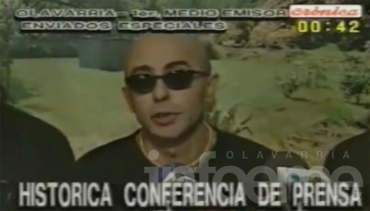La histórica conferencia de Los Redondos en Olavarría