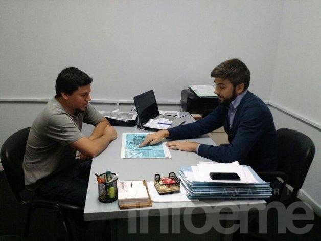 Terrenos para viviendas: Aguilera se reunió con Cenizo
