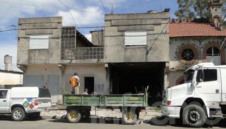 """Desalojaron """"Castillo de Ziccheri"""" por peligro de derrumbe"""