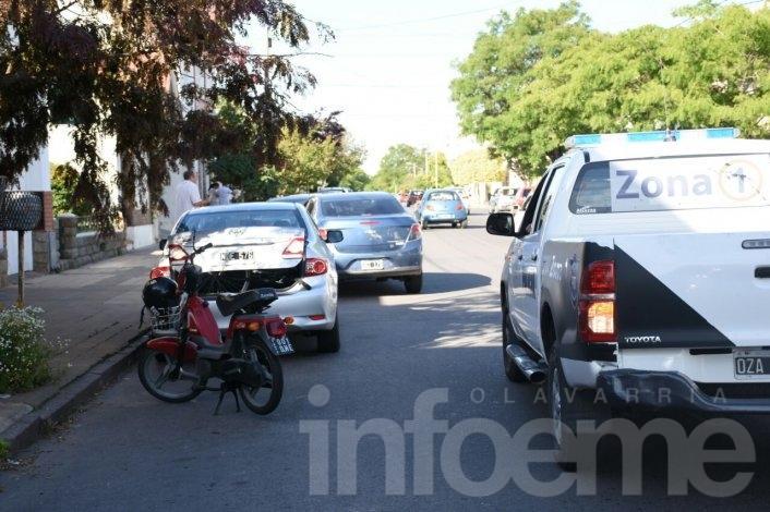 Accidente: mujer sufrió heridas y fue trasladada al Hospital