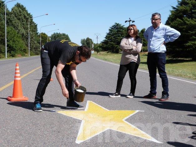 Pintarán nuevas estrellas amarillas en nuestra ciudad