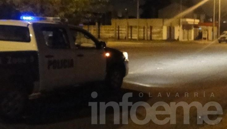 Policía intentó mediar en conflicto familiar y terminó golpeado