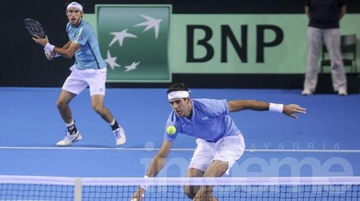 Copa Davis: Del Potro y Mayer buscarán otro punto en dobles