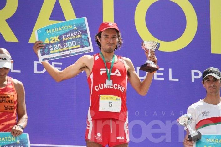 Olivera, segundo en el Maratón de Mar del Plata