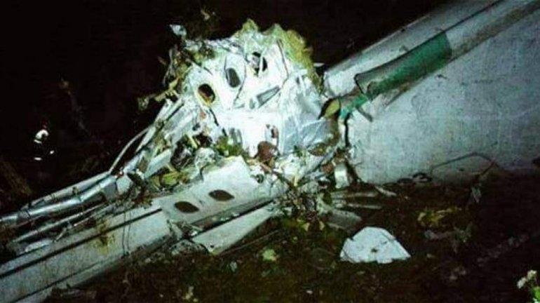 Se estrelló avión que trasladaba al Chapecoense