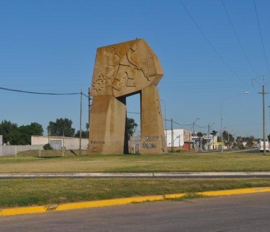 Provocaron daños contra el monumento a la Voluntad del Hombre